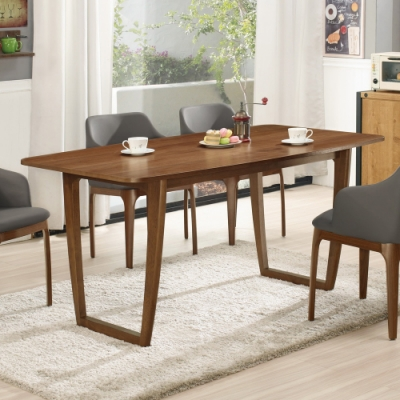 Boden-雷克5.3尺餐桌-160x90x75.5cm