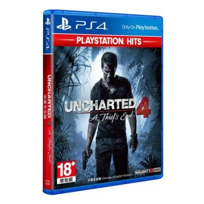 秘境探險4 PlayStation Hits (中英文合版)
