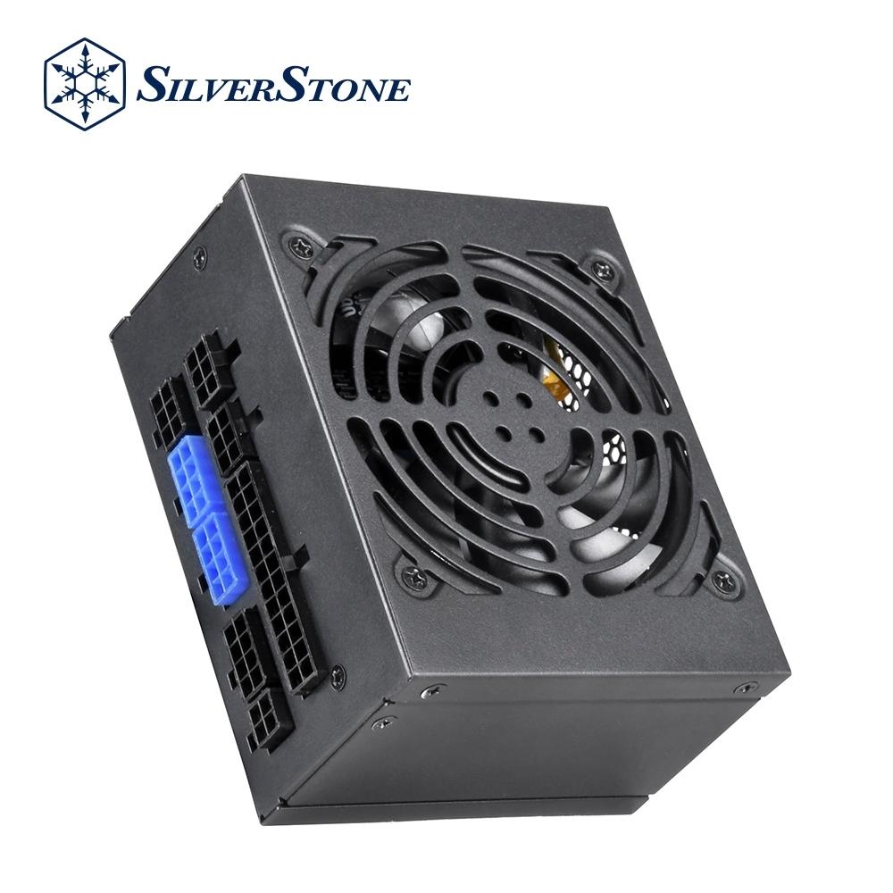 SilverStone銀欣 650W 80 PLUS金牌認證 100%模組化線材 SFX SX650-G 電源供應器