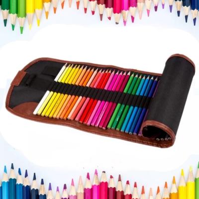 水溶性彩色筆帆布袋装48色VENCEDOR
