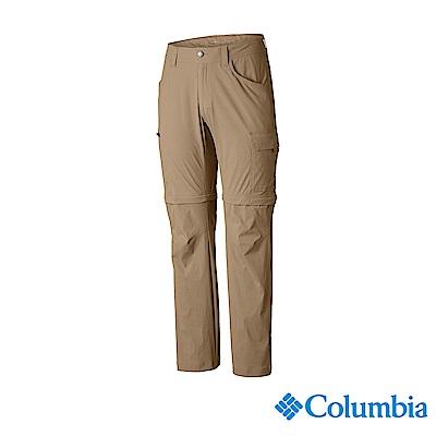 Columbia 哥倫比亞 男款-UPF50防潑長褲-卡其 UAE06620KI