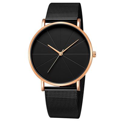 Geneva 日內瓦-米字錶盤無時標米蘭帶手錶 (5色任選)