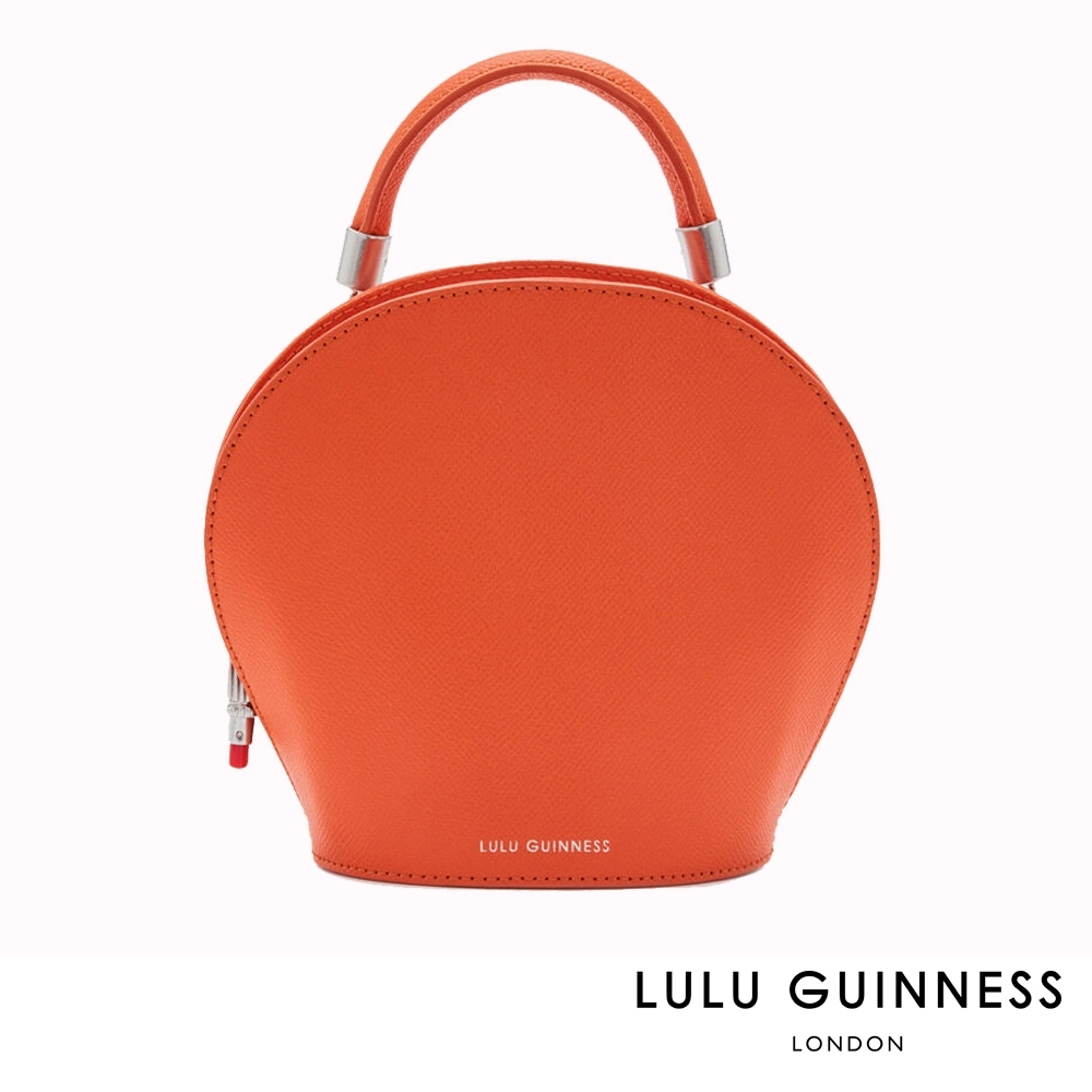 LULU GUINNESS WILLOW 手提/側背包 (橘)