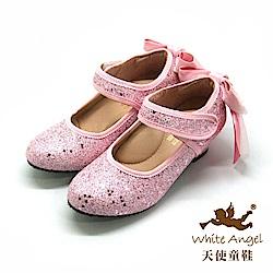 天使童鞋 冰晶星宇公主高跟鞋 J892-08 粉