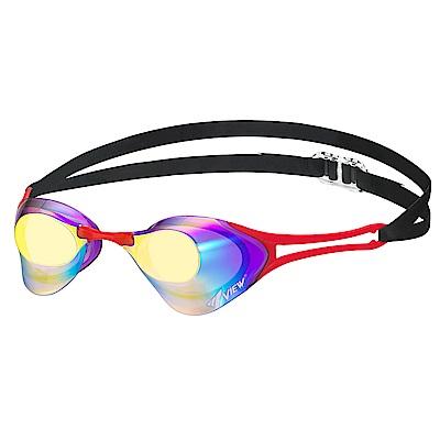 【日本Tabata】成人競技款抗UV防霧泳鏡(BladeZERO V127MR)