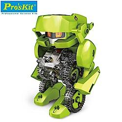 台灣製造Proskit科學玩具 4合1太陽能四戰士GE-617