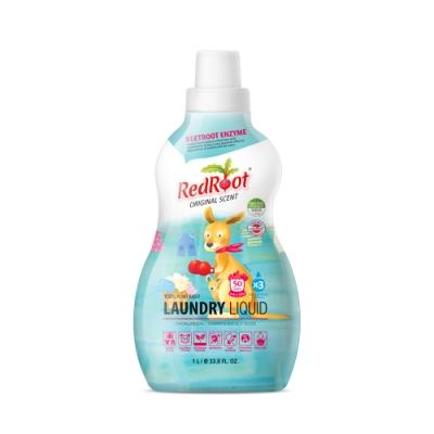 澳洲【REDROOT】 三倍濃縮有機洗衣精 (潔淨清香、柑橘香氛)