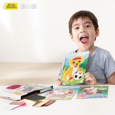 Sticky Mosaics 馬賽克拼貼旅遊包-家有小狗(5Y+)