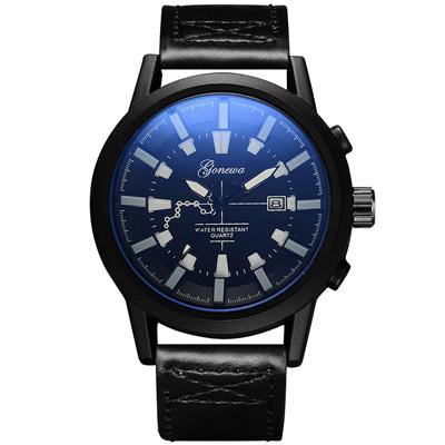 Gonewa-疾速援救 慢活文青創意裝飾日曆手錶 (3色任選)