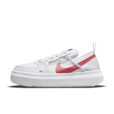 Nike Court Vision Alta TXT 厚底 女休閒鞋-白-CW6536101