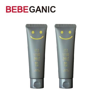 BEBEGANIC 韓國 兒童微笑低氟牙膏 100g 芒果口味(2入)