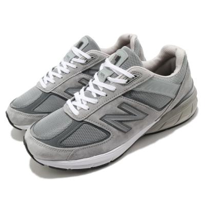 New Balance 休閒鞋 990 Extra Wide 超寬楦 男鞋 紐巴倫 經典款 舒適 美國製 球鞋 穿搭 灰 白 M990GL54E