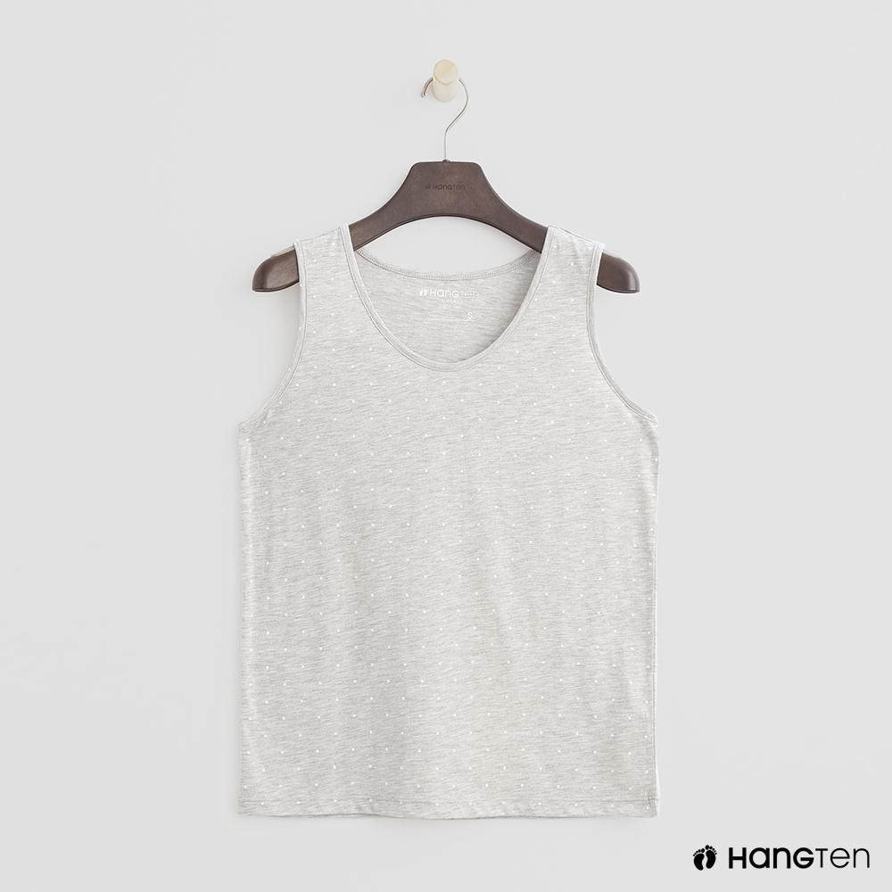Hang Ten-女裝-經典款簡約背心-灰色
