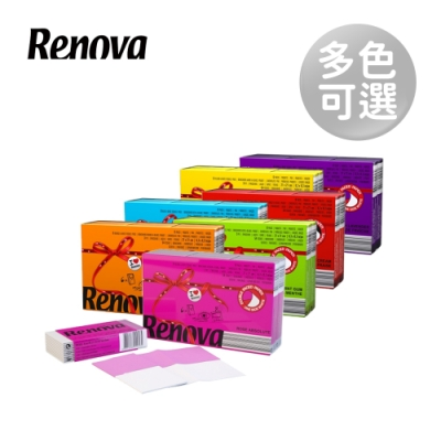 Renova葡萄牙天然彩色香氛紙手帕(6入/組) -多款任選《滿800出貨》
