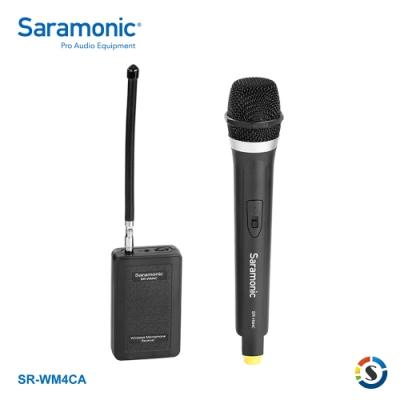 Saramonic楓笛 SR-WM4CA 一對一VHF無線麥克風系統