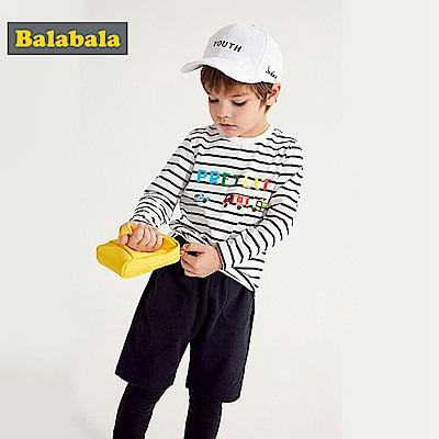 Balabala巴拉巴拉-立體小卡車長袖T恤-女(3色)
