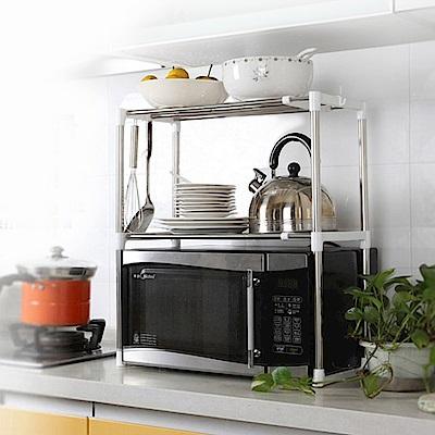 ENNE 廚房微波爐 不鏽鋼伸縮組合架 F0147