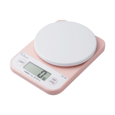 TANITA 廚房迷你電子料理秤&電子秤-1kg-粉色