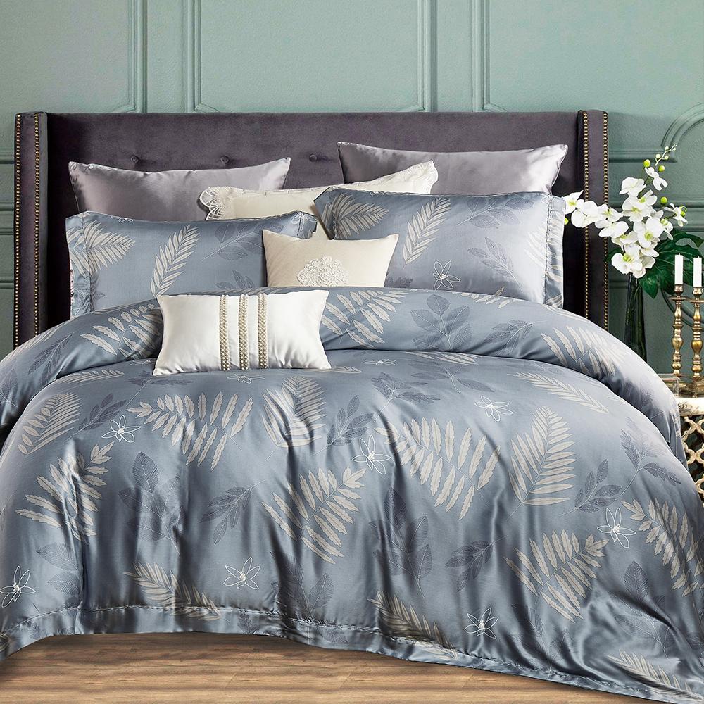 Ania Casa 驪歌 天絲 100% TENCEL 特大鋪棉兩用被套床包四件組