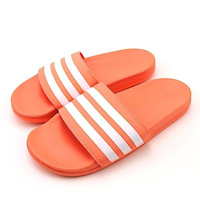 ADIDAS ADILETTE COMFORT涼拖鞋 B43528 橘