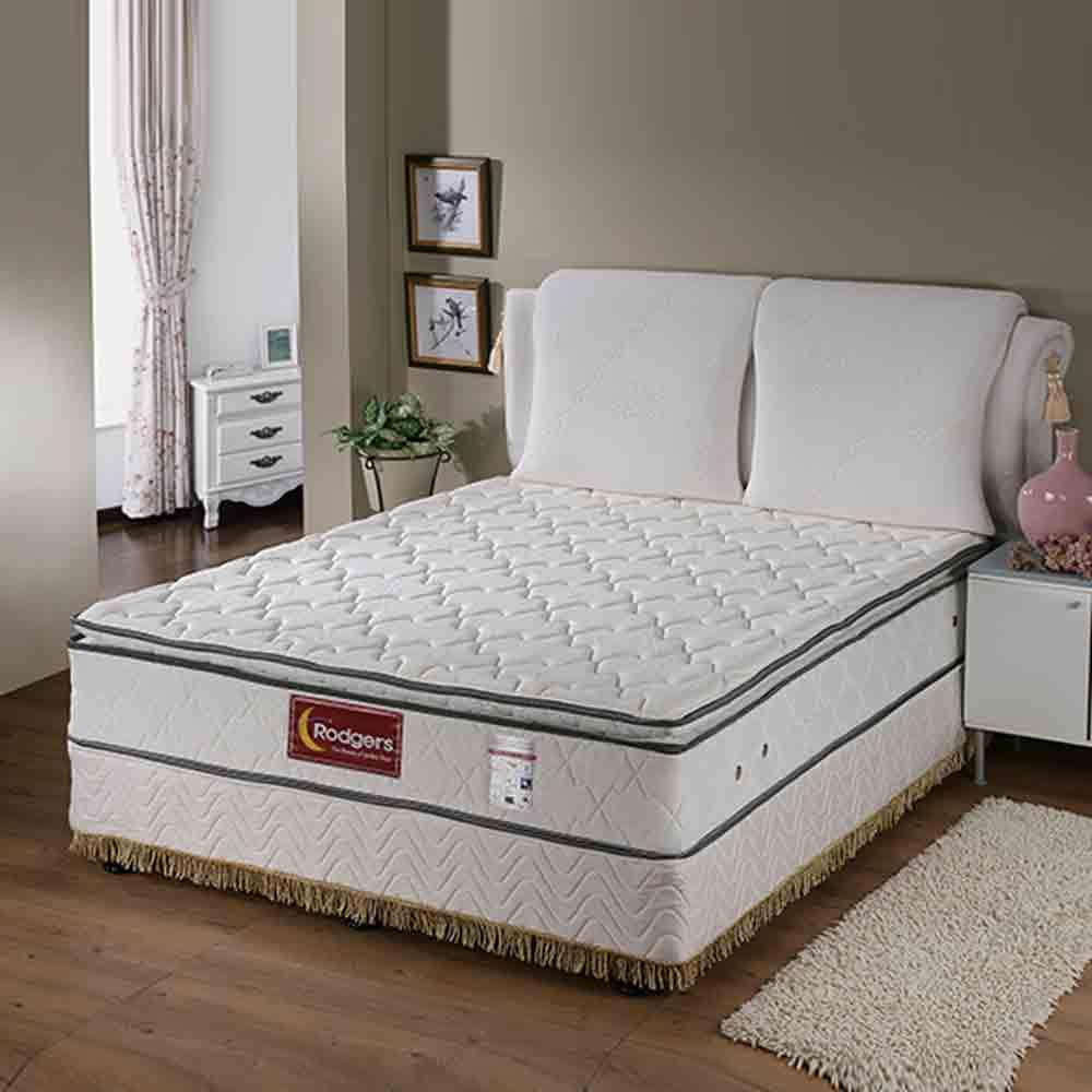 蘿瑞娜610三線乳膠獨立筒床墊-雙人特大6*7尺