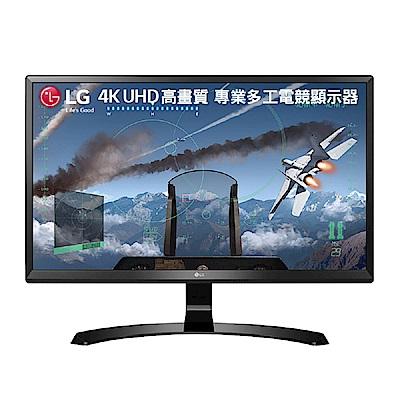 [無卡分期12期] LG 24UD58-B 24型 AH-IPS 4K 電競電腦螢幕