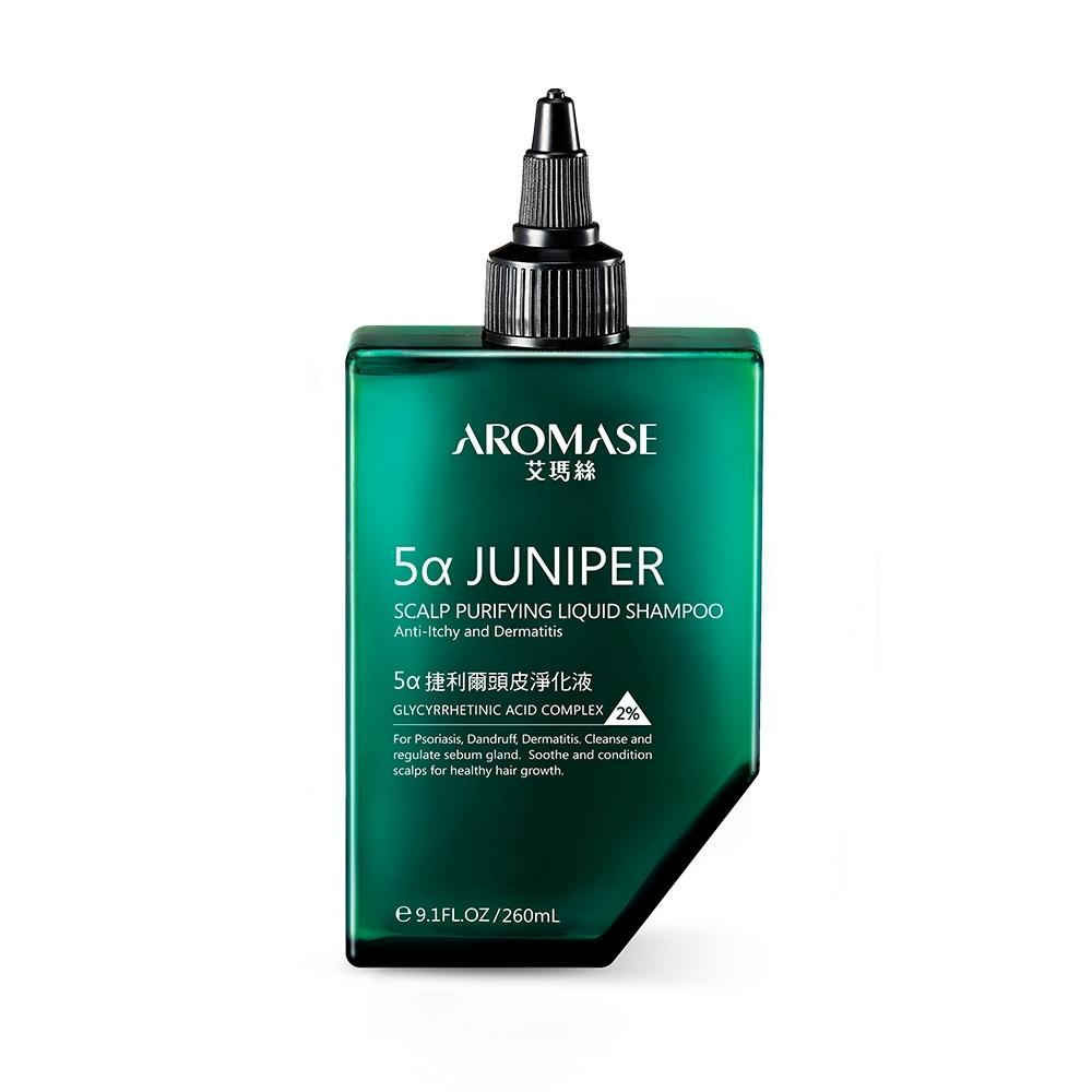 AROMASE艾瑪絲 2%5α捷利爾頭皮淨化液-無涼 260mL