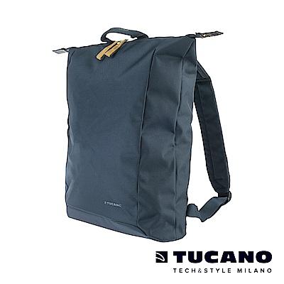 TUCANO SMILZO 13-14吋大開口兩用輕巧後背包-藍