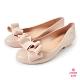 Petite Jolie--可愛麻花捲果凍娃娃鞋-粉膚 product thumbnail 1