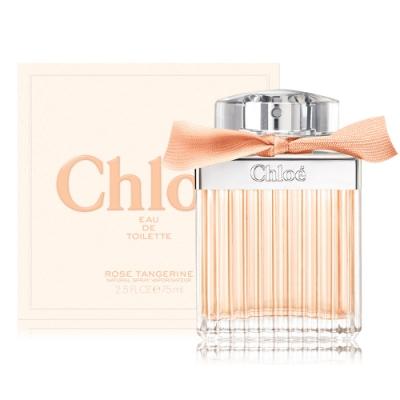 *Chloe 沁漾玫瑰女性淡香水 Rose Tangerine 75ml EDT-公司貨