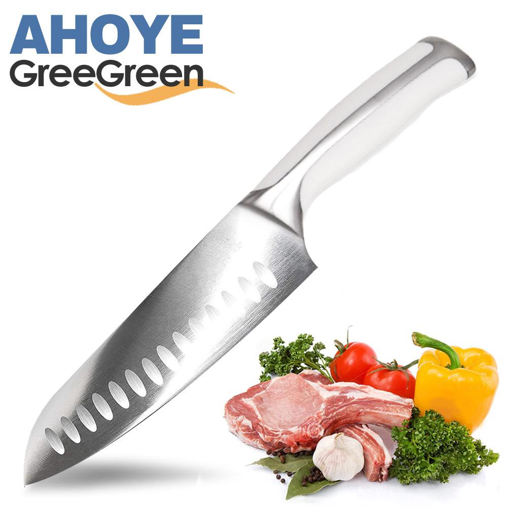 GREEGREEN 牙白柄廚師刀(18cm)
