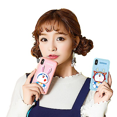 iStyle iPhone X/XS 5.8 哆啦A夢 趣味生肖手機殼