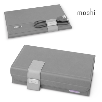 Moshi Deep Purple 隨身折疊式360°無死角紫外線殺菌消毒盒