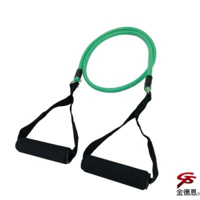金德恩 健美王之臂力訓練單管彈性瑜珈阻力拉繩/顏色隨機