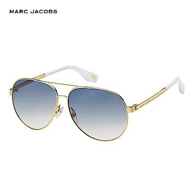Marc Jacobs- MARC 305/S 都會時尚飛行個性太陽眼鏡 藍色