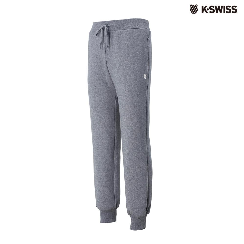 K-SWISS KS Sweatpants保暖運動長褲-女-灰