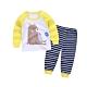 Baby童衣 兒童睡衣 薄長袖套裝 寶寶居家服 88217