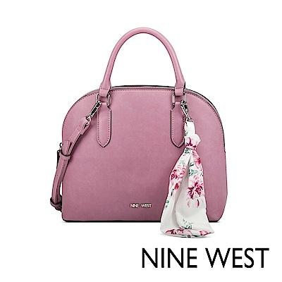 NINE WEST JOIE絲帶吊飾貝殼包-粉色(522405)