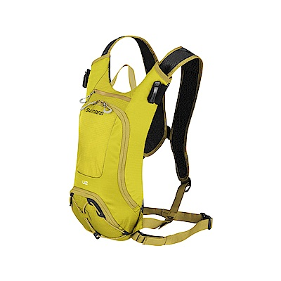 【SHIMANO】UNZEN 2L 自行車水袋背包 橄欖暖黃