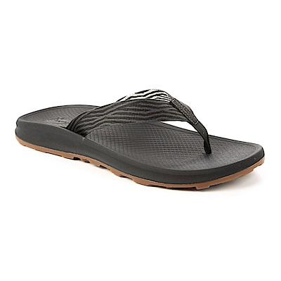 美國Chaco。男 越野沙灘夾腳拖鞋CH-PLM01HF44 (碎末黑)