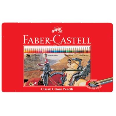 FABER-CASTELL 油性色鉛筆 36色 115846