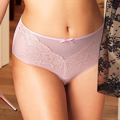 黛安芬-花漾輕塑胸罩系列高腰內褲 M-EEL 嫩粉