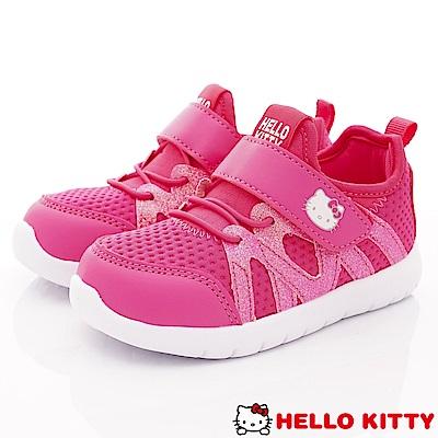 HelloKitty童鞋 抗菌乳膠運動鞋款 SE19813桃(中小童段)