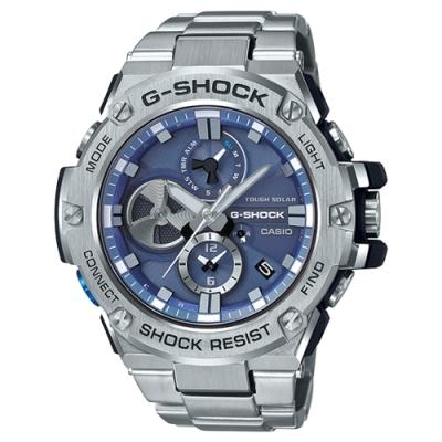G-SHOCK 太陽能渦輪葉片設計智慧藍牙錶(GST-B100D-2A)-53.8mm