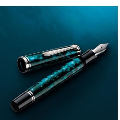 德國PELIKAN百利金 Ocean Swirl 深海渦漩 帝王系列鋼筆*M805