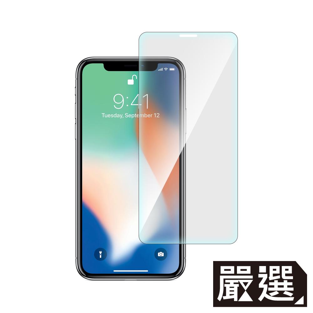嚴選 iPhone Xs Max 非滿版疏水疏油鋼化玻璃保護貼(6.5吋)