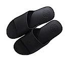 DIDA 超彈力氣墊舒壓減壓拖鞋-男款黑色