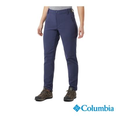 Columbia 哥倫比亞 女款- Omni Shield防潑防曬50長褲-藍色