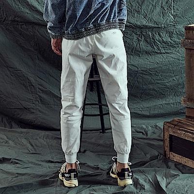 CACO-201螺紋縮口褲-情侶款-女【RNA020】