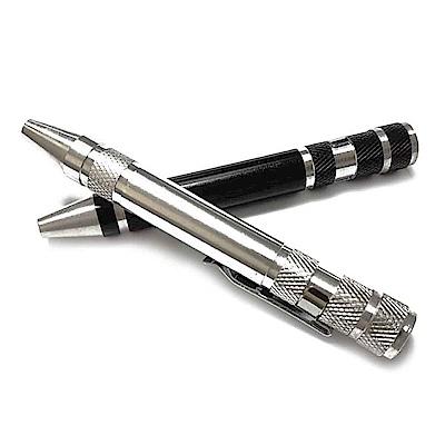 多功能螺絲起子組 鋁合金可收納磁性工具筆 筆型螺絲刀